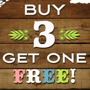 Buy 3 get 1 FREE!!! +15% off!! Everything included